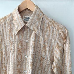 Men's Vintage Marlboro Long Sleeve Button Down